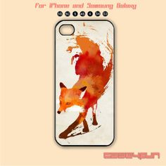 Fox,iPhone 5 case, iPhone 5C Case, iPhone 5S , Phone case, iPhone 4S , Case,Samsung Galaxy S3, Samsung Galaxy S4