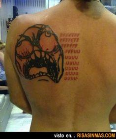 Tatuajes horribles: Meme.