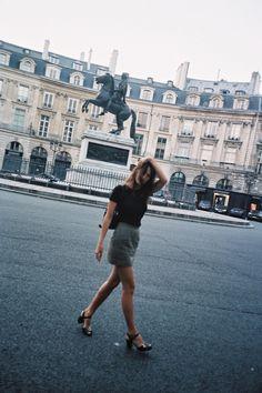 no rain, no flowers ❁ // Jeanne Damas, Fashion Mode, Look Fashion, Rome, Style Parisienne, Casual Chique, No Rain, French Chic, Parisian Style