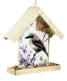 Look at this #zulilyfind! Bird Art Vista Bird Feeder #zulilyfinds