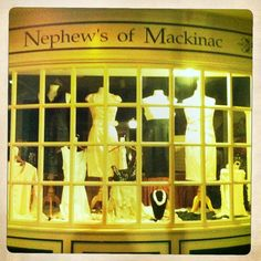 Buy yourself a cute little dress at Nephew's of Mackinac