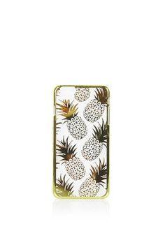 Gold Pineapple iPhone 6 Plus Case
