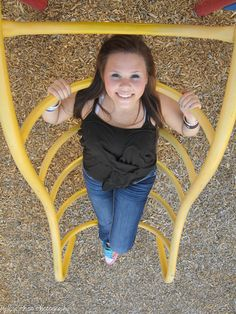 Another idea, playgrounds. Outdoor Senior Pictures, Girl Senior Pictures, Senior Girls, Senior Photos, Senior Portraits, Playground Photography, Senior Photography, Portrait Photography, Photography Ideas