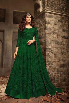 Wardrobe stunning bollywood stylish floor length gown on sale