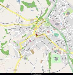 Map of Shaftsbury - http://travelquaz.com/map-of-shaftsbury.html