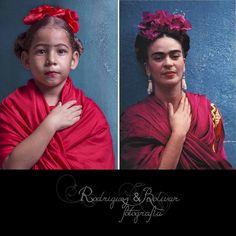 36/366 Proyecto pandora | 6/52 Viernes: Retrato  Febrero de mujeres famosas Magdalena Carmen Frida Kahlo Calderón, más conocida como Frida Kahlo (Coyoacán, 6 de julio de 1907, 13 de julio de 1954), fue una pintora y poetisa mexicana.2 Casada con el célebre muralista mexicano Diego Rivera, su vida estuvo marcada por el infortunio de contraer poliomielitis y después por un grave accidente en su juventud que la mantuvo postrada en cama durante largos periodos.