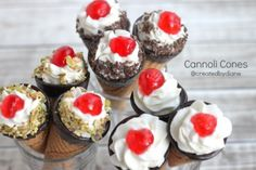 cannoli cones CONE-oli's ....sometimes you may have to choose to suffer for such a sweet treat! Gluten I hate you, but I love the things you're in!