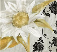 Sunflower Painting - Sunroom I by Mindy Sommers