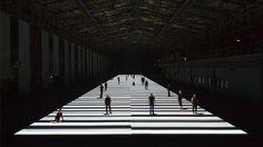 Test Pattern [100m version], 2013, Ruhr triennale, Germany.