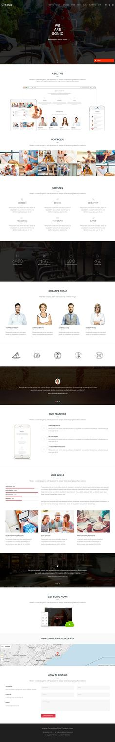 Sonic is multipurpose WordPress theme with built in eCommerce support has 15+ unique demos, 70+ pre-made pages and amazing features. #smallbiz #website Download Now!