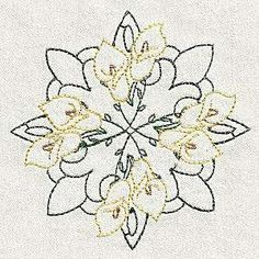 Free Embroidery Design Every Day