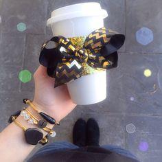 Glitter Coffee Sleeves