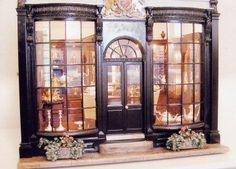 I'm fascinated with miniature storefronts and this one is gorgeous!
