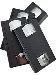 Blank VHS Tapes (Set of 4 Tapes)