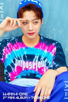 Photoshoot Wanna One Lai Guan Lin. Wanna One First Album 1x1=1. Debut song Energetic