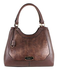 Look what I found on #zulily! Moro Snake Avery Shoulder Bag #zulilyfinds