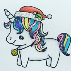 Squeal I so  this  from Darcies Heart and Home. #unicornlover #sparkle #christmasunicorn