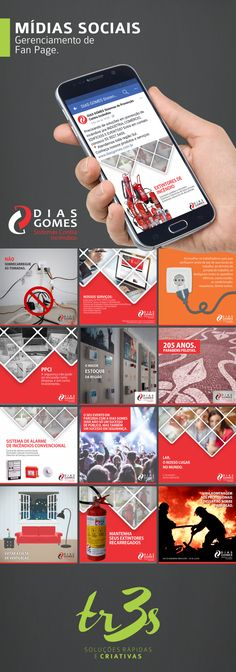 A Dias Gomes - Sistemas Contra Incêndios é cliente da tr3s desde março de 2017. A agência é responsável pela produção de conteúdo e gerenciamento da fan page no facebook da empresa.