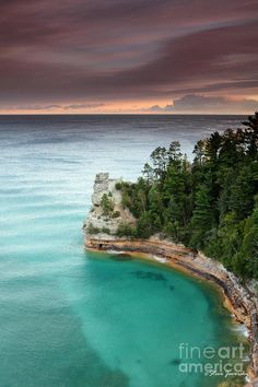 Miners Castle Photograph by Steve Javorsky -  Pictured Rocks Michigan