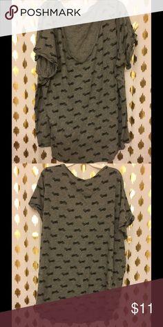Torrid Bicycle Print T-Shirt Casual & Chic Printed T-Shirt torrid Tops Tees - Short Sleeve
