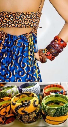 Chic Therapy: Item of the Week: Ituen Basi Ankara Bangle & Necklace