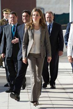 Princess Letizia - Princess Letizia Visits 'El Greco' Residence...10-29-13
