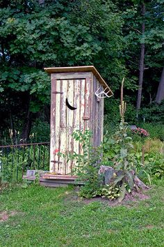 Outhouse Located in Burt NY