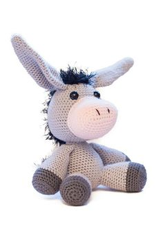 Ravelry: Duncan the Donkey pattern by Dennis van den Brink