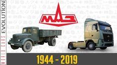 W.C.E - MAZ Evolution (1944 - 2019) Trucks, Eastern Europe, Youtube, Blog, Van, History, Classic, Mercedes E Class, Derby