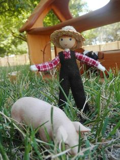 natural-handmade-waldorf-inspired-dollhouse-family-doll-farmer – Wildflower Innocence Toys