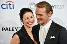 Outlander Stars Sam Heughan and Caitriona Balfe's Cutest Moments - Are Sam Heughan and Caitriona Balfe Dating Sam Heughan Outlander, Caitriona Balfe Outlander, Outlander Casting, Outlander Tv, Outlander Series, Marie Claire, Jamie And Claire, Sam Hueghan, Sam And Cait