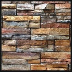 Cheap Home Decorations For Sale Key: 3074080684 Faux Stone Siding, Faux Stone Panels, Diy Log Cabin, Exterior House Siding, Cabin Fireplace, Tv Wall Design, Stone Mosaic, Stone Work, Wood Texture