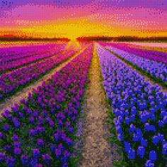 Stitch App, Cross Stitch Pictures, Cross Stitch Designs, Pixel Art, Vineyard, Outdoor, Coloring, Crafty, Embroidery