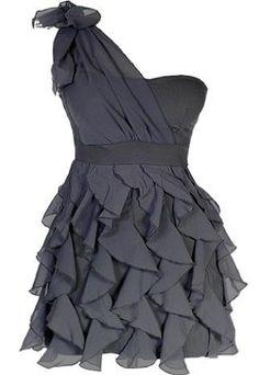 Chandelier Frills Dress, not a huge fan of one shoulder dresses, but still cute!