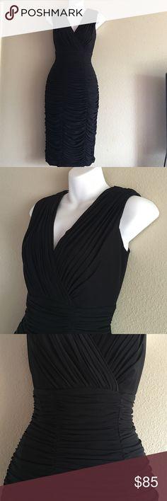 Spotted while shopping on Poshmark: Tadashi Collection black dress! #poshmark #fashion #shopping #style #Tadashi Collection #Dresses & Skirts