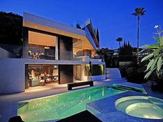 To have a house with a pool.....and not a South City galvanized or blow up one (I've already done that)  ;)
