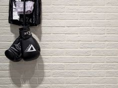 """The long weekend is over. Time to get back in the ring. Featured tile: NEW YORK - VENICE """"brick"""" by conceptsurfaces_co Porcelain Ceramics, White Ceramics, Porcelain Floor, Richmond Melbourne, Brick Material, Black Brick, Feature Tiles, Brick Flooring, Wooden Slats"""