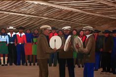 Round Dance, by Allen Sapp, cree native of Saskatchewan. Order Of Canada, Native American Artists, American Traditional, Pictures To Draw, First Nations, Painters, Nativity, Art Gallery, Culture