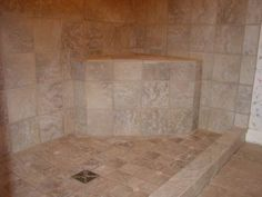 Accessible Shower, Tiled Handicap Shower, ADA/Wheelchair Accessible Shower | Tile Your World