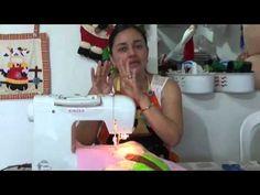 Acolchado en Maquina Domestica: diferencia entre Doble Arrastre y Manos Libres. - YouTube