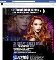 REDKEN Page for Germany & Austria