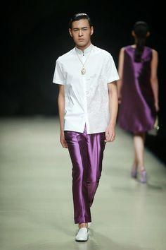 #Menswear #Trends Zeng Fengfei  Spring Summer 2015 Primavera Verano #Tendencias #Moda Hombre