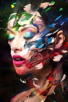 """Technicolor """"Colora i tuoi Sogni"""" by Alberto Seveso, via Behance"""