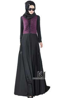 F & h abaya winkel vrouwen jurk plus size 4xl 5xl spandex 175g stof lange mouw islamitische kleding voor vrouwen groothandel 20150903