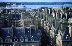 St. Malo, France.  I was 18 but still clearly remember this romantic location