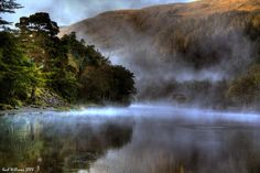 Early morning shot of Loch Lubnaig, Perthshire.