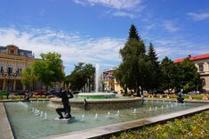 """""""Little Vienna"""". A nickname that has been given to quite a few cities around Europe. Ruse is one of the most beautiful cities the Balkan country. Most Beautiful Cities, Eastern Europe, Bulgaria, Regional, Vienna, Paths, Fountain, Travel Destinations, Museum"""