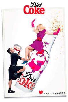 Marc Jacobs Director Creativo de Coca Cola Light