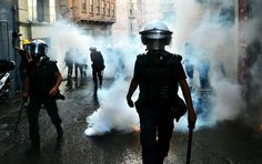 polis violence in istanbul, 2013