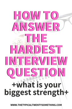 "How To Answer ""What Is Your Biggest Strength"" During A Job InterviewHow To Answer, ""What Is Your Biggest Strength"" During A Job Interview! job interview questions, what is your biggest strength, biggest weakness, how t. Management Interview Questions, Job Interview Preparation, Interview Questions And Answers, Job Interview Tips, Job Interviews, Management Tips, Job Resume, Resume Tips, Resume Ideas"